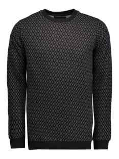 jjprtraver sweat crew neck 12102241 jack & jones sweater black