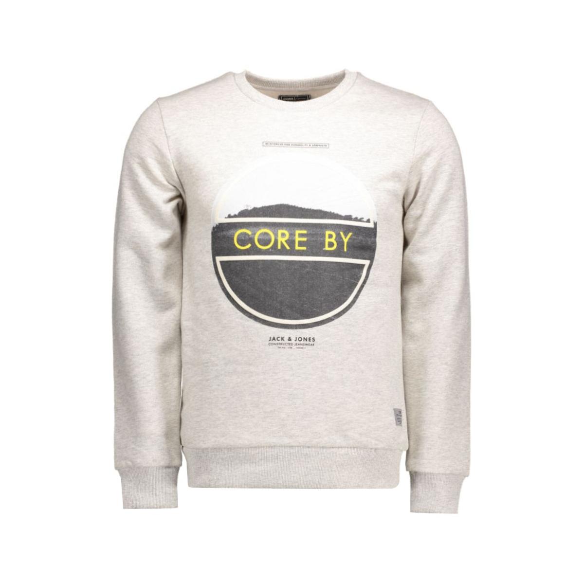 jjcobrag sweat crew neck 12106722 jack & jones sweater treated white