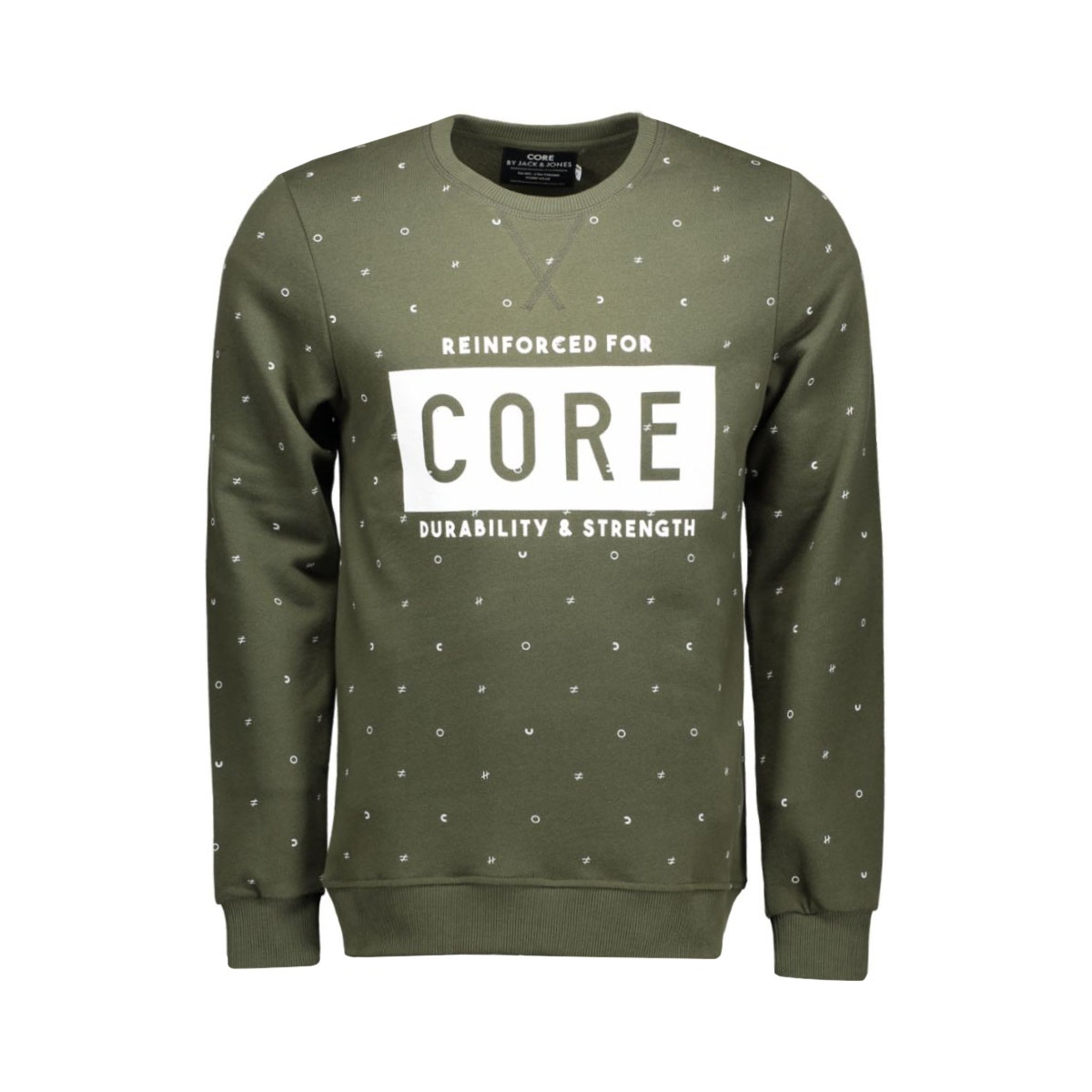 jcosine sweat crew neck 12109825 jack & jones sweater forest night