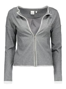 objann sweat blazer 23022412 object vest medium grey melange