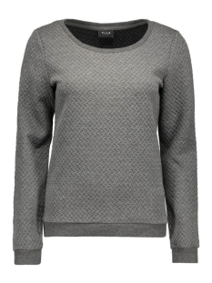 vinaja sweat top 14036052 vila sweater medium grey melange