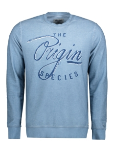 Garcia Sweater B71260 2093 Blue horizon