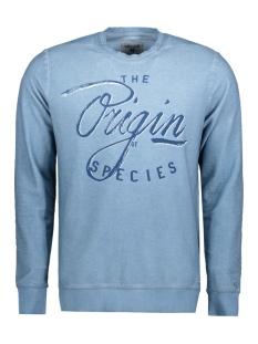 Garcia Sweater B71260 2093 Blue horizon