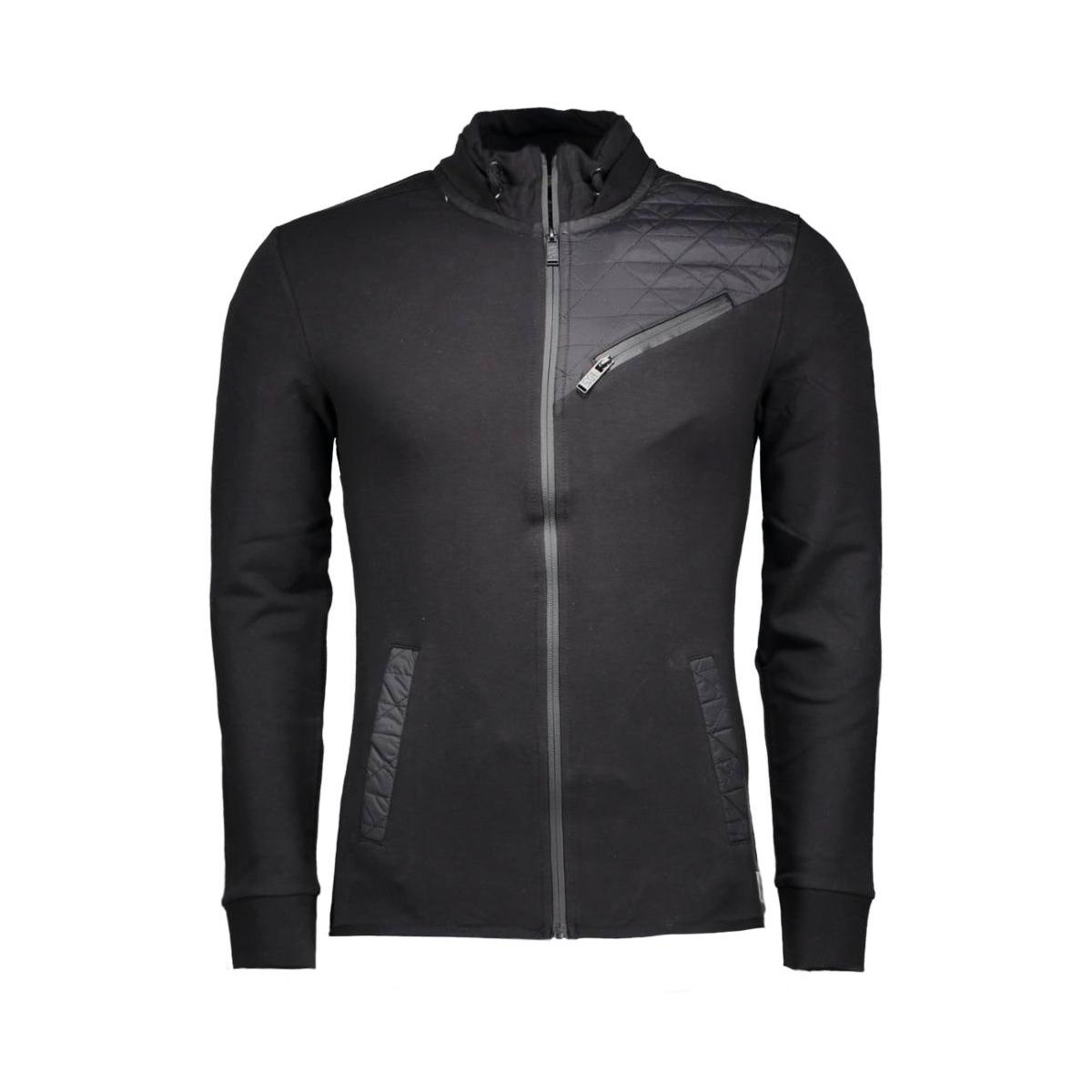 78100814 no-excess vest 020 black