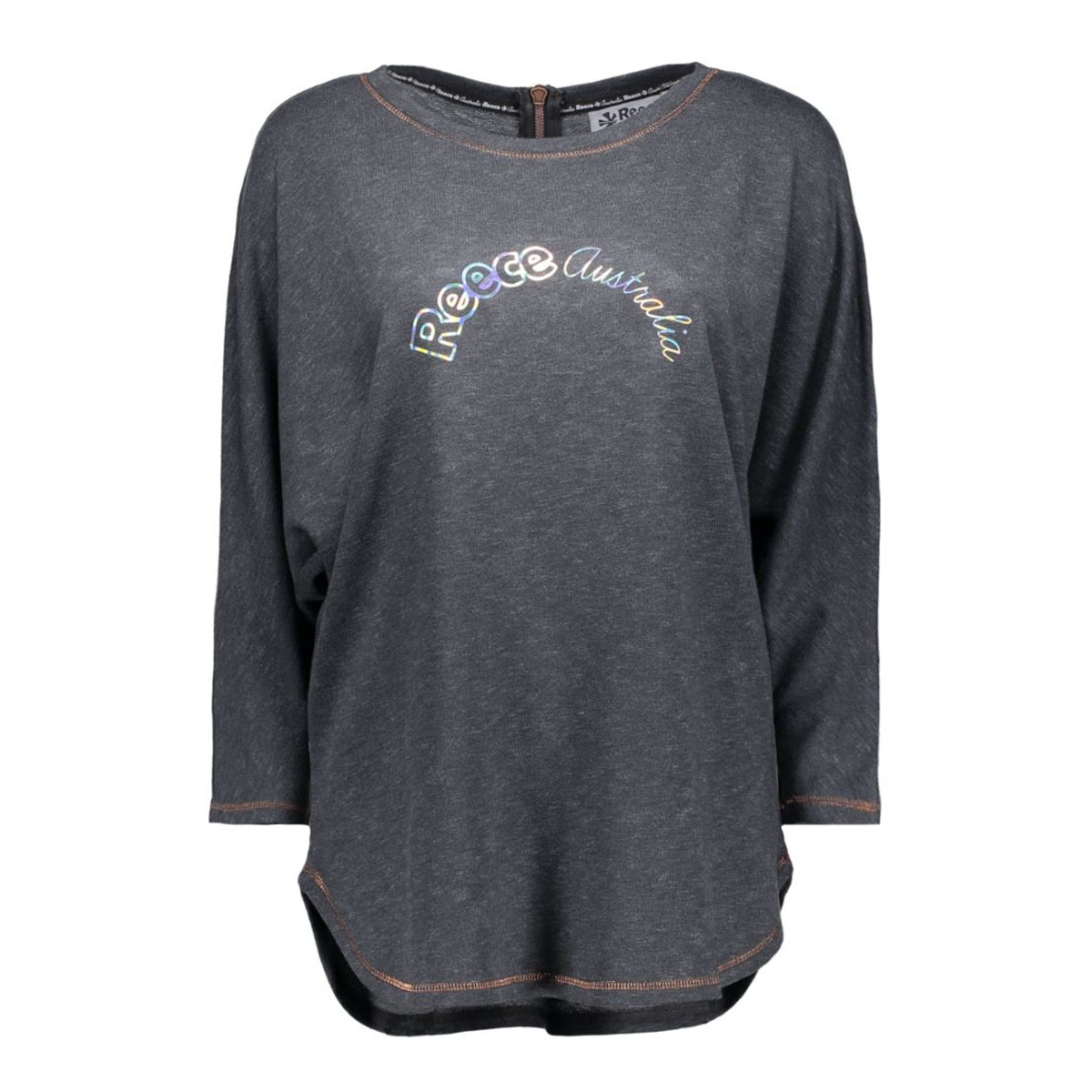 865605 heather sweat reece sport trui 9005 dark grey