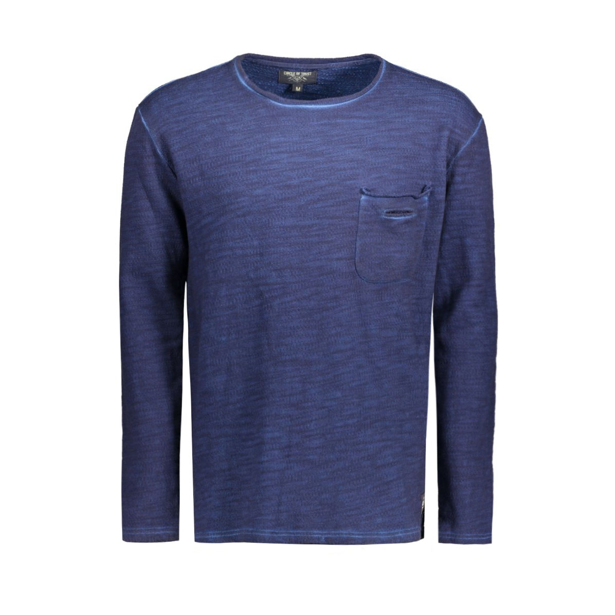 hw16.19.1542 griffin sweater circle of trust sweater frosted navy