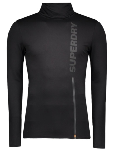 Superdry Sport shirt M60000PM Black