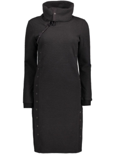 OBJJIRA L/S SWEAT KNEE DRESS 88 23023426 Black