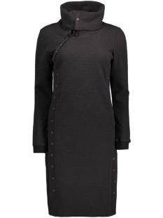 objjira l/s sweat knee dress 88 23023426 object jurk black