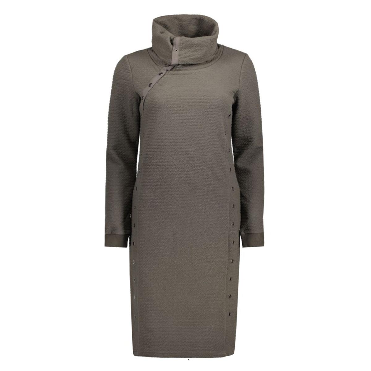 objjira l/s sweat knee dress 88 23023426 object jurk beluga