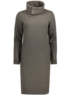 OBJJIRA L/S SWEAT KNEE DRESS 88 23023426 Beluga