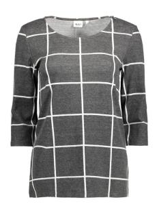 Object Sweater OBJMAXINE BELL PULLOVER 87 DIV 23023639 Dark Grey Melange