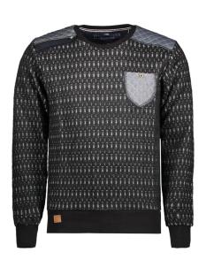 5401 gabbiano sweater zwart