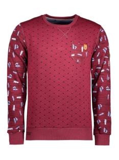 4006 gabbiano sweater rood