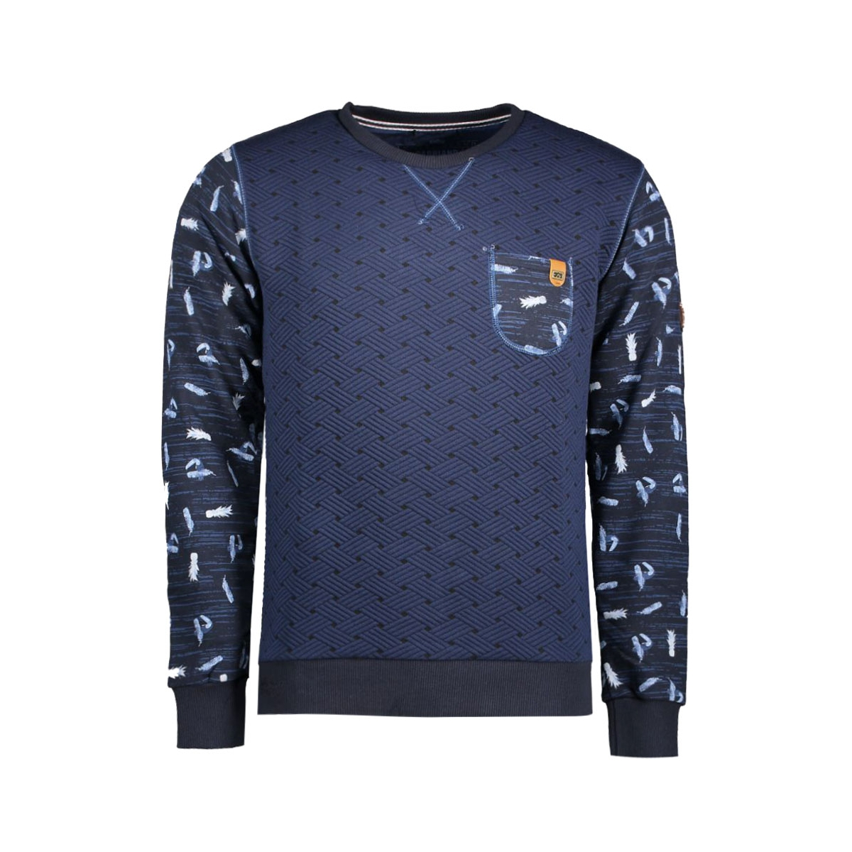 4006 gabbiano sweater navy