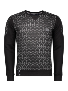 5410 gabbiano sweater zwart