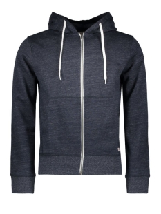 Jack & Jones Vest JORSTORM SWEAT ZIP HOOD BASIC NOOS 12114955 Navy Blazer