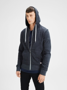 jorstorm sweat zip hood basic noos 12114955 jack & jones vest navy blazer