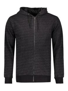onsfiske zip hoodie noos 22004472 only & sons vest dark grey melange
