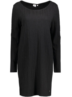 OBJJULIA L/S SWEAT DRESS 87 23023241 Black