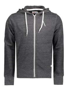 Jack & Jones Vest JORSTORM SWEAT ZIP HOOD BASIC NOOS 12114955 Dark Grey Melange