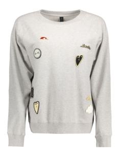 10 Days Sweater 16WF808 LIGHT GREY MELEE