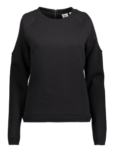 Object Sweater OBJCUT L/S SWEAT PULLOVER Black