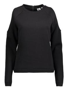Object Sweater OBJCUT L/S SWEAT PULLOVER Black