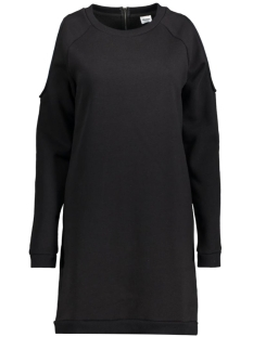 OBJCUT L/S SWEAT DRESS 23024659 Black
