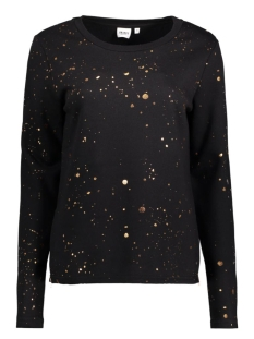 Object Sweater OBJSPLASH LS SWEAT PULLOVER A 23024974 Black