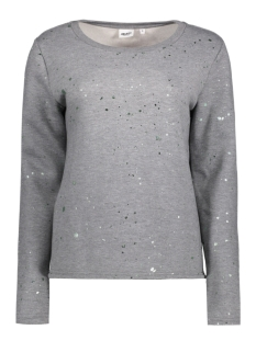 Object Sweater OBJSPLASH LS SWEAT PULLOVER A 23024974 Light Grey Melange