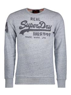 Superdry Sweater M20112XOF2 VINTAGE LOGO CREW ZXI STORM BLUE GRIT