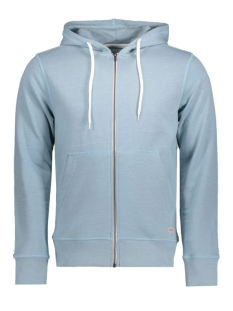 Jack & Jones Vest JORSTORM SWEAT ZIP HOOD COLOR NOOS 12114956 Stone blue