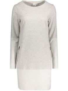 OBJMORGAN SWEAT DRESS 89 23024301 Light Grey Melange