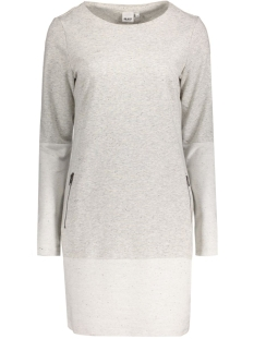 Object Jurk OBJMORGAN SWEAT DRESS 89 23024301 Light Grey Melange