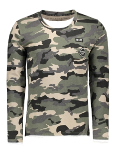 Key Largo Sweater MSW00004 SECTOR 1514 OLIVE