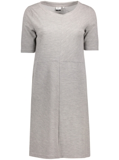OBJHEAVEN S/S SWEAT DRESS  .I 90 23024228 Light Grey Melange