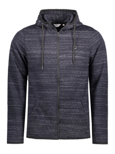 Jack & Jones Vest JCOCARBON SWEAT ZIP HOOD CAMP 12122959 Sky Captain