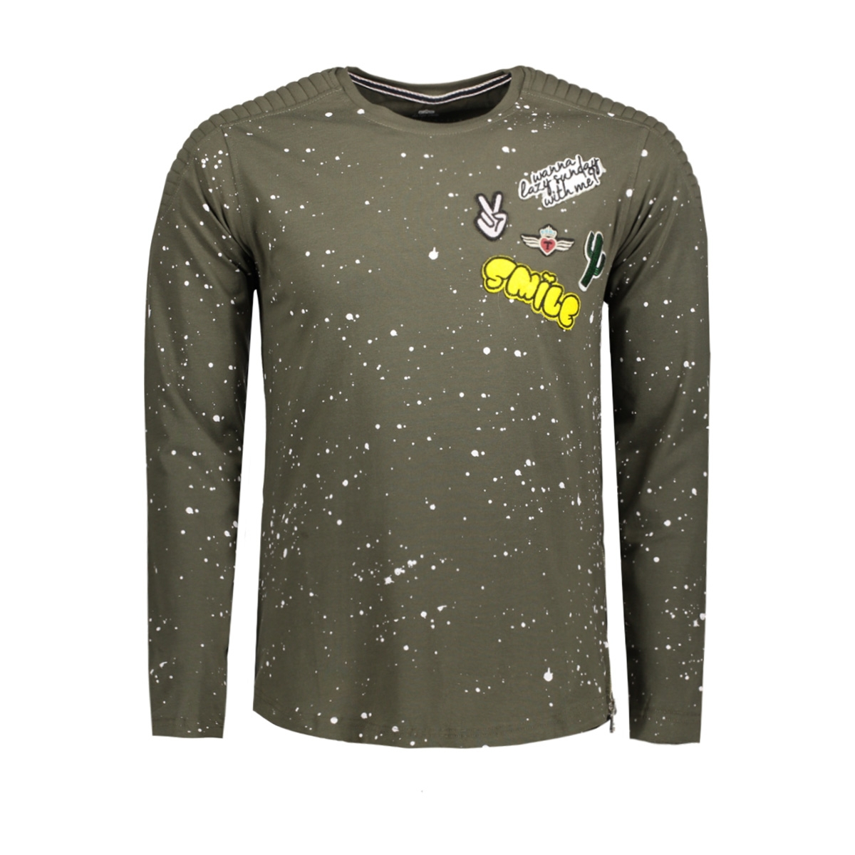 4008 gabbiano t-shirt army