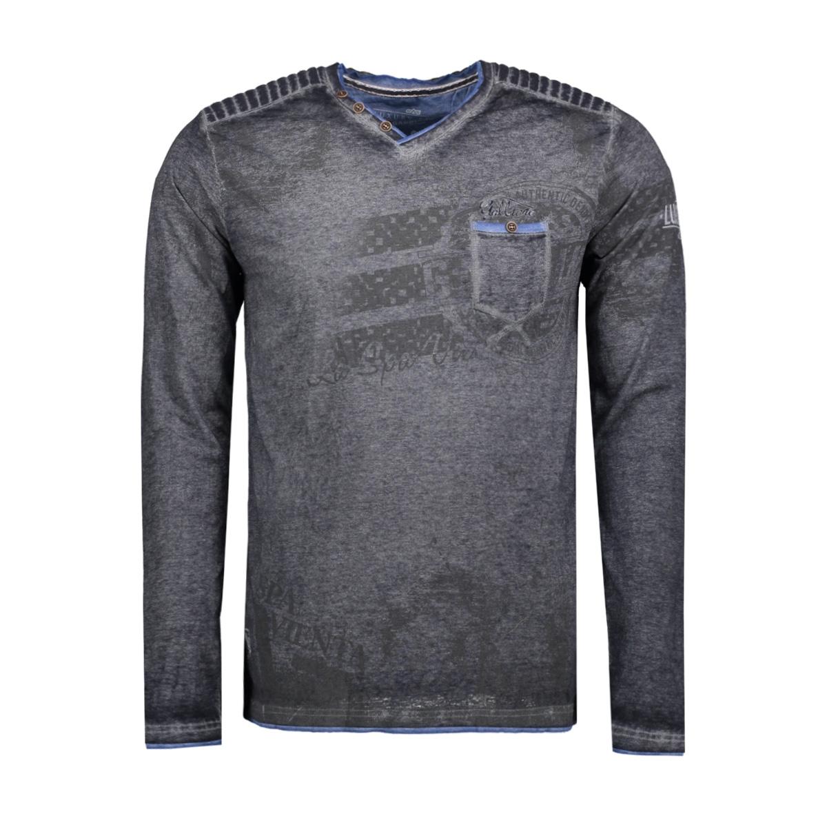 3012 gabbiano t-shirt zwart
