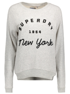 Superdry Sweater G20002PN APPLIQUE RAGLAN 54G ICE MARL