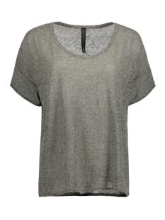 10 Days T-shirt 20-614-7101 dark grey melee