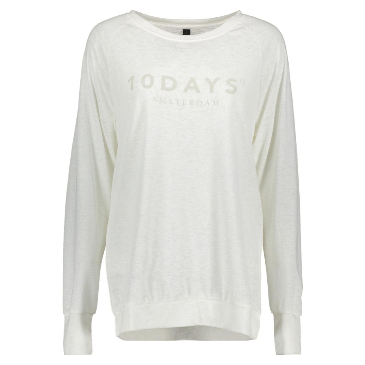 20-782-7103 10 days sweater ecru