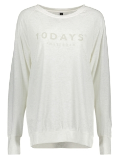 10 Days Sweater 20-782-7103 Ecru