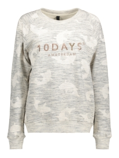 10 Days Sweater 20-811-7103 LIGHT GREY MELEE