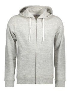 Jack & Jones Vest JORSTORM SWEAT ZIP HOOD COLOR NOOS 12114956 Cloud Dancer/Reg