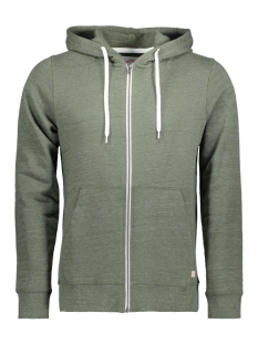 Jack & Jones Vest JORSTORM SWEAT ZIP HOOD COLOR NOOS 12114956 Thyme/Reg