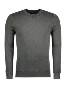 Superdry Sweater M61009AP DYE LA CREW MAZ DEEP KHAKI