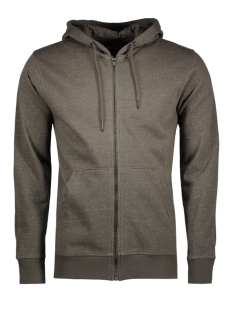 Only & Sons Vest onsFISKE ZIP HOODIE BRUSHED NOOS 22004472 Deep Depths