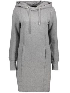Object Jurk OBJNAIA SWEAT DRESS 92 23024823 Medium Grey Melange